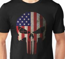 Police Punisher Flag Unisex T-Shirt
