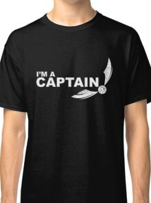I'm a Captain - White ink Classic T-Shirt
