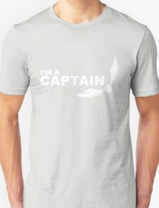 I'm a Captain - White ink T-Shirt