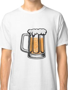 Drinking beer thirst handle booze Classic T-Shirt