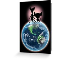 Take Over The World Greeting Card