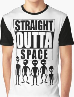 Straight outta space Graphic T-Shirt