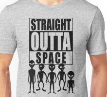 Straight outta space Unisex T-Shirt