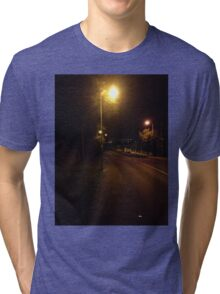 Cork, Lonely Road Tri-blend T-Shirt