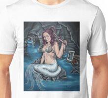 shadows of the world steampunk mermaid Unisex T-Shirt