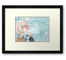 Cold Winter Framed Print