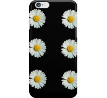 Six white daisies iPhone Case/Skin