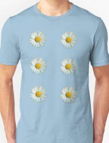 Six white daisies T-Shirt