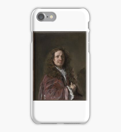 Portrait of a Man about Frans Hals iPhone Case/Skin