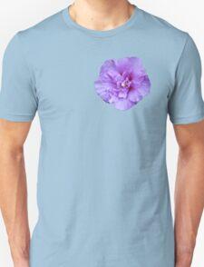 Purple hibiscus flower T-Shirt