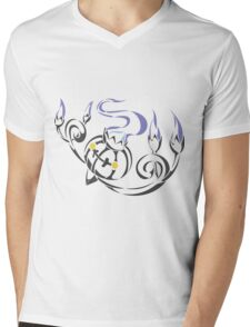 Chandelure Mens V-Neck T-Shirt