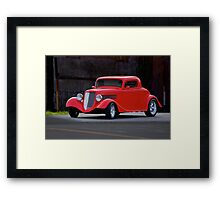 1934 Ford Coupe Framed Print