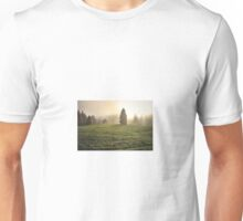 The light amongst the trees  Unisex T-Shirt