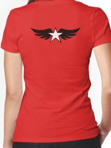 Spread the Wings Women's Fitted V-Neck T-Shirt