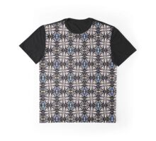 Seamless pattern of lines and girder shapes. Graphic T-Shirt