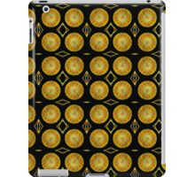 Seamless pattern of bronze mirror moons. iPad Case/Skin