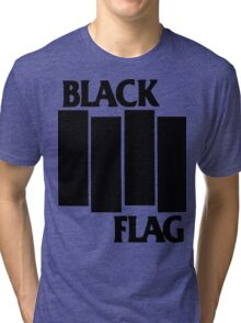 black flag logo Tri-blend T-Shirt