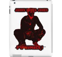 jonny bones jones p4p no. 1 iPad Case/Skin