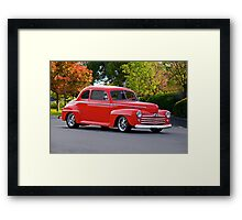 1947 Ford Super Deluxe Coupe Framed Print
