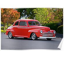 1947 Ford Super Deluxe Coupe Poster