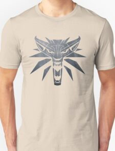 Forest and Wolf Medallion T-Shirt