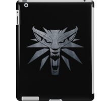 Forest and Wolf Medallion iPad Case/Skin