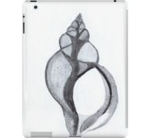 X-Ray Shell (india ink - vertical) iPad Case/Skin