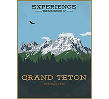 Grand Teton (Portrait) Photographic Print