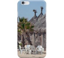 Thatched Cabanas iPhone Case/Skin