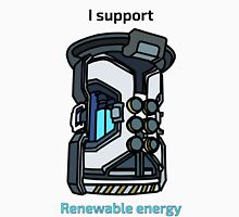 I Support Renewable Energy Classic T-Shirt