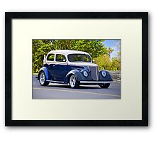 1937 Ford Tudor Sedan Framed Print
