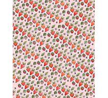 Strawberry Print Photographic Print