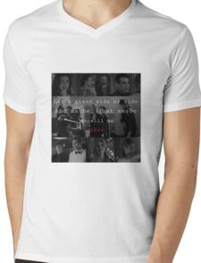 Shadowhunters - Side by side  Mens V-Neck T-Shirt