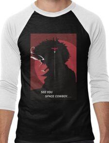 See You Space Cowboy - Spike Men's Baseball ¾ T-Shirt