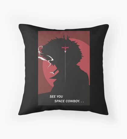 See You Space Cowboy - Spike Throw Pillow