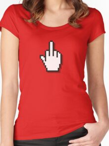 Web Finger Women's Fitted Scoop T-Shirt