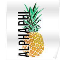 ΑΦ- pineapple Poster