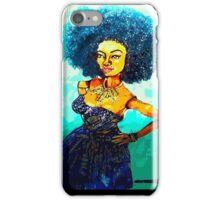 NICOLE: KINDA BLUE iPhone Case/Skin