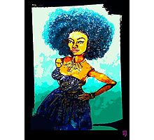 NICOLE: KINDA BLUE Photographic Print