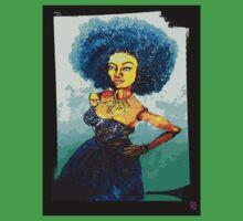 NICOLE: KINDA BLUE Baby Tee
