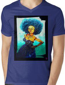 NICOLE: KINDA BLUE Mens V-Neck T-Shirt