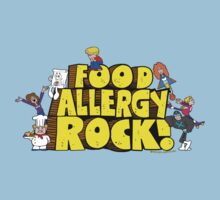 Food Allergy Rock ! Kids Tee