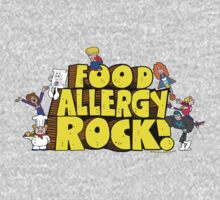 Food Allergy Rock ! One Piece - Long Sleeve