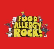 Food Allergy Rock ! Baby Tee
