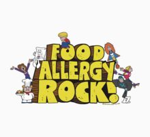 Food Allergy Rock ! Baby Tee