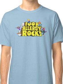 Food Allergy Rock ! Classic T-Shirt