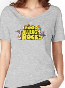 Food Allergy Rock ! Women's Relaxed Fit T-Shirt