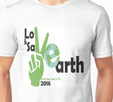 Love and Save our one earth, victory version Unisex T-Shirt