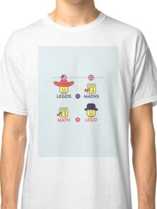 Lego and Maths Classic T-Shirt