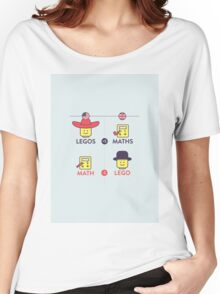 Lego and Maths Women's Relaxed Fit T-Shirt